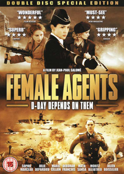 Female Agents 2008 poster