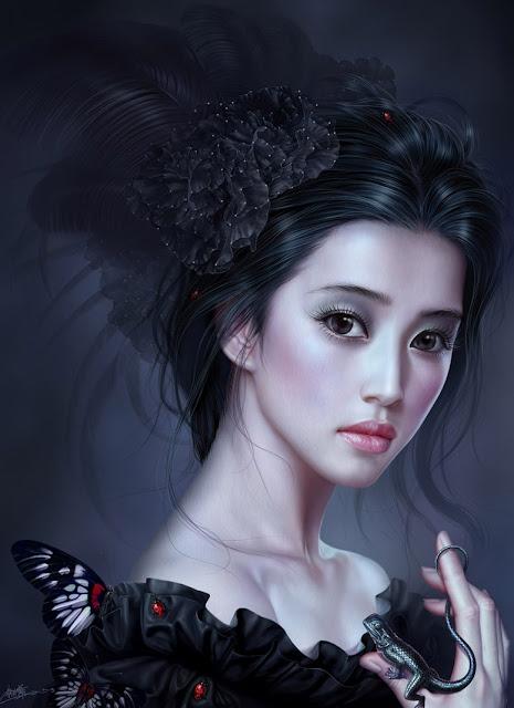 Lizard, Digital Art,Yuehui Tang