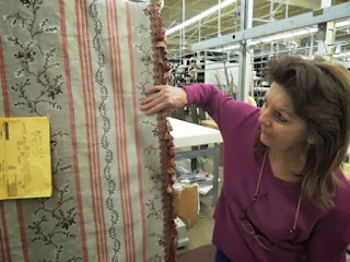 drapery fabric, drapery inspection, custom workroom, Wesco Fabrics
