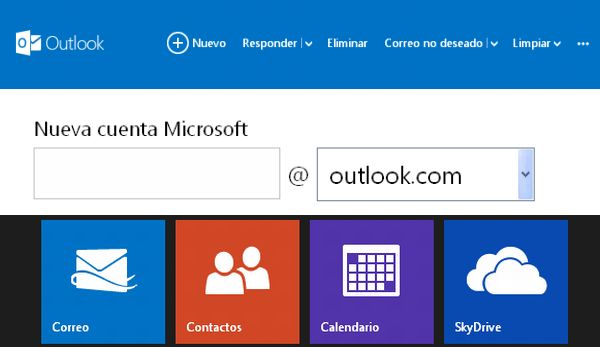 cuentas Outlook.com