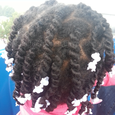 Beautifully Curled: African Hair Threading Updates Before Removal