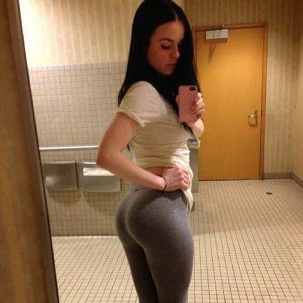 teen girl humps in yoga