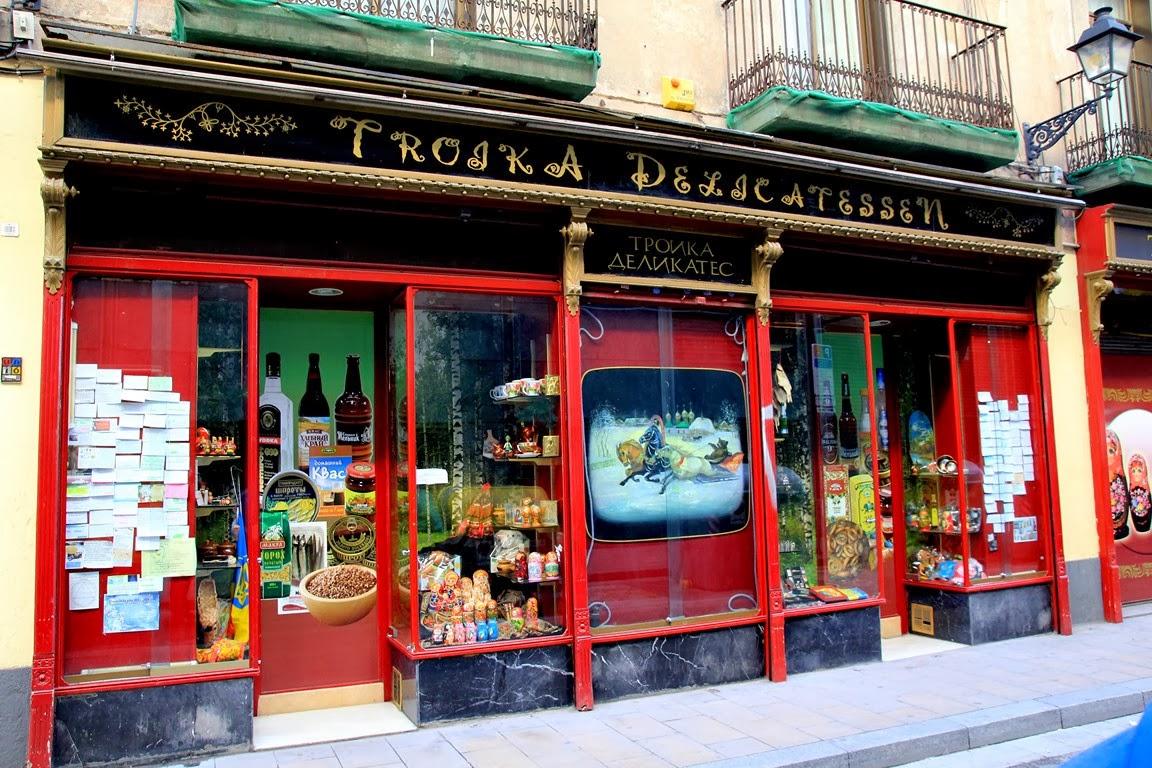 DÓNDE ESTAMOS | Tienda rusa en Barcelona, TROIKA, productos rusos