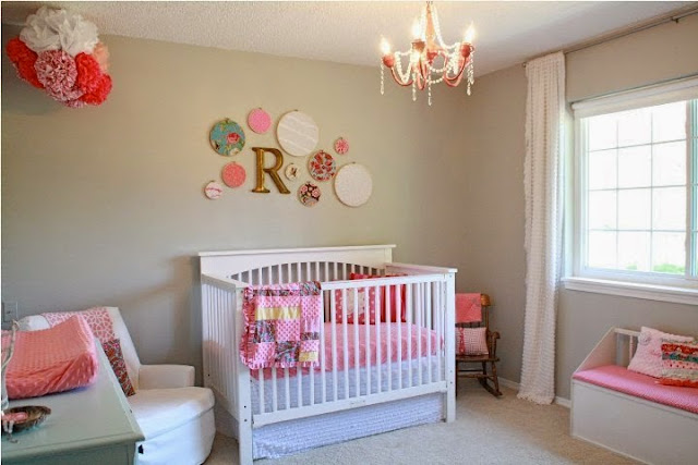 nursery wall color ideas girl