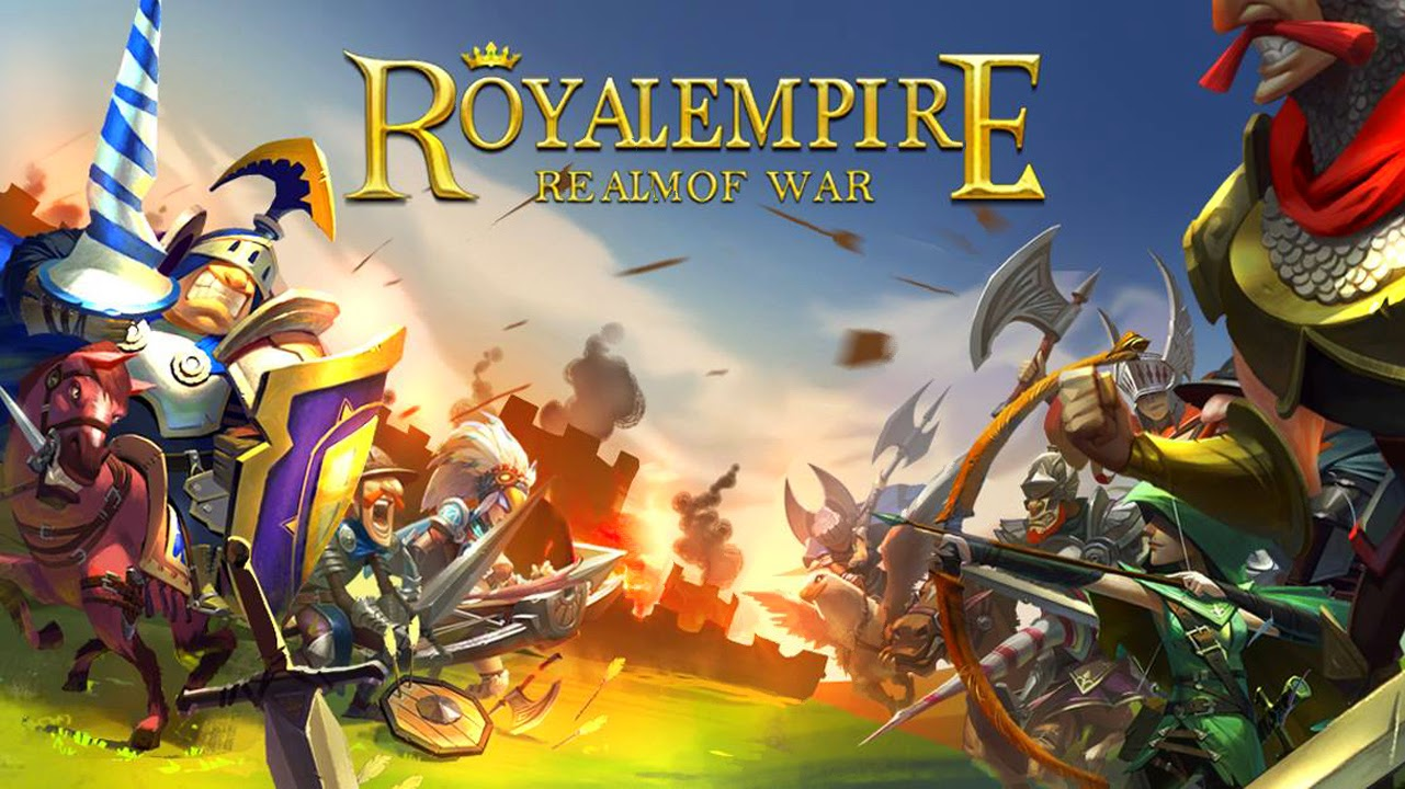Royal Empire: Realm of War Gameplay IOS/ Android |