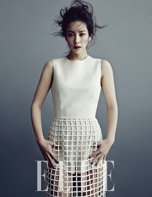 Han Ji Min - Elle Magazine January Issue 2014