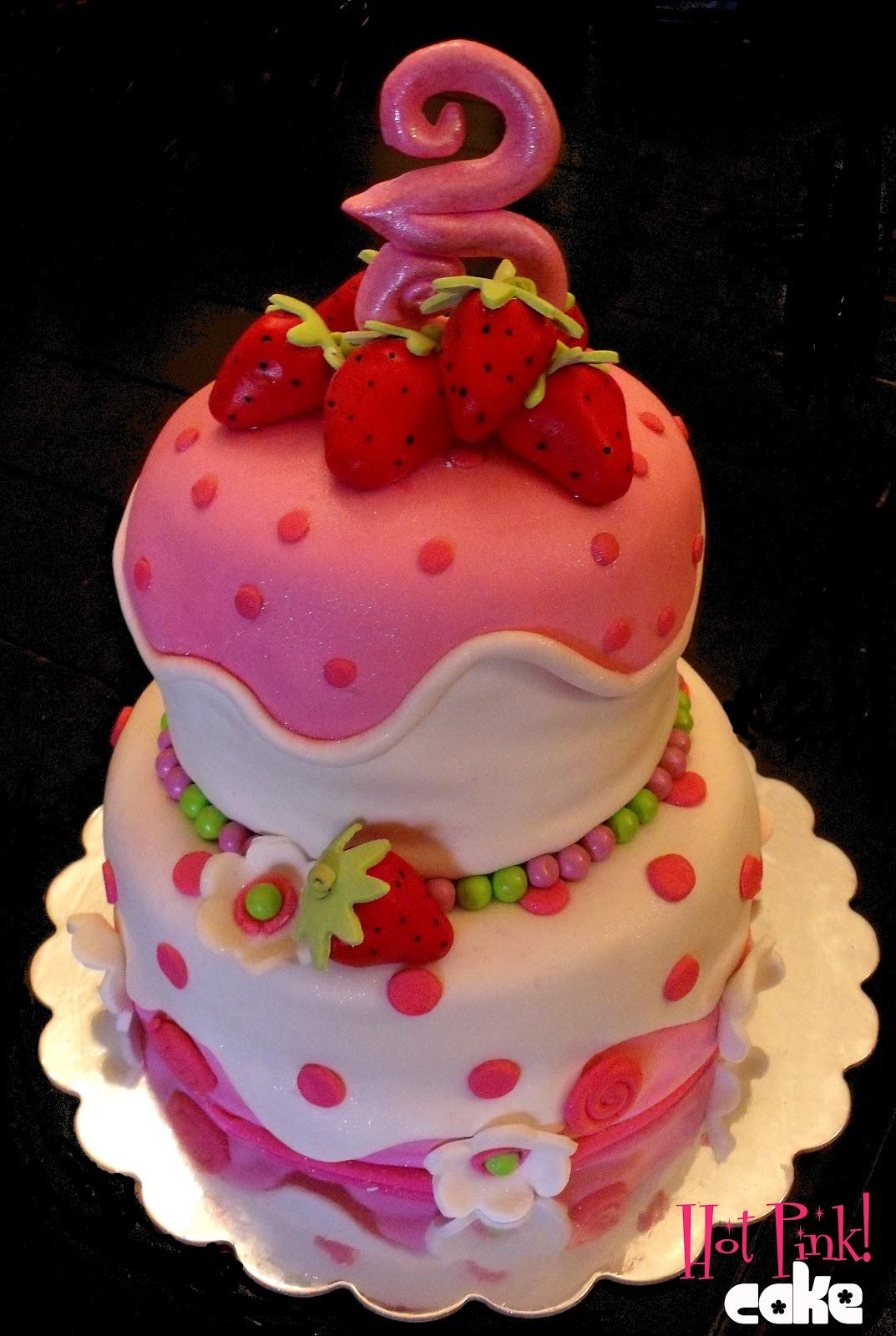 Hot Pink! Cakes: Strawberry Shortcake