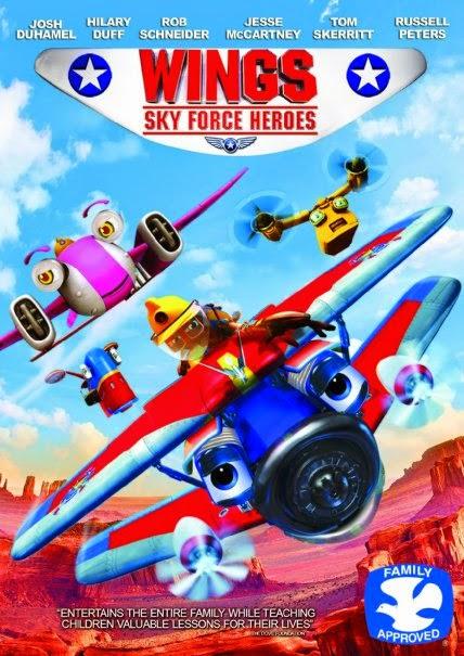 Phim Hoạt Hình Những Anh Hùng Trên Không - Wings: Sky Force Heroes - 2014
