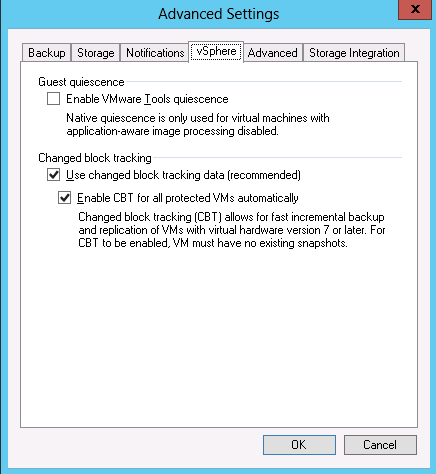 Veeam Backup: Escenario de referencia de MB/s de rendimiento (2)
