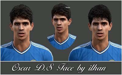 Oscar Dos Santos Face by ilhan