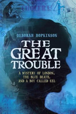 The Great Trouble: A Mystery of London, The Blue Death, and a Boy Called Eel by Deborah Hopkinson is a fabulous historical fiction juvenile chapter book that received 4.5 out of 5 stars in my book review.  Teachers will love to read aloud this book and use it to discuss epidemics, the Scientific Method, of historical fictions in general.  Boys will especially love this book, but girls will love it too.  This book is great for upper elementary (4th grade and up), middle school, and even high school students (especially those needing hi/lo books). Alohamora Open a Book http://www.alohamoraopenabook.blogspot.com/