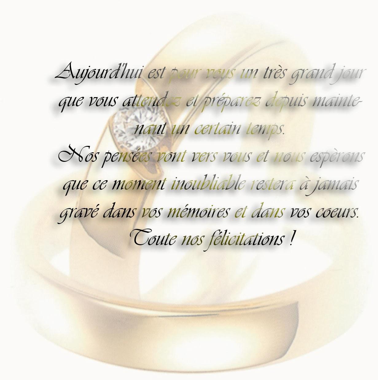 Idée félicitation mariage