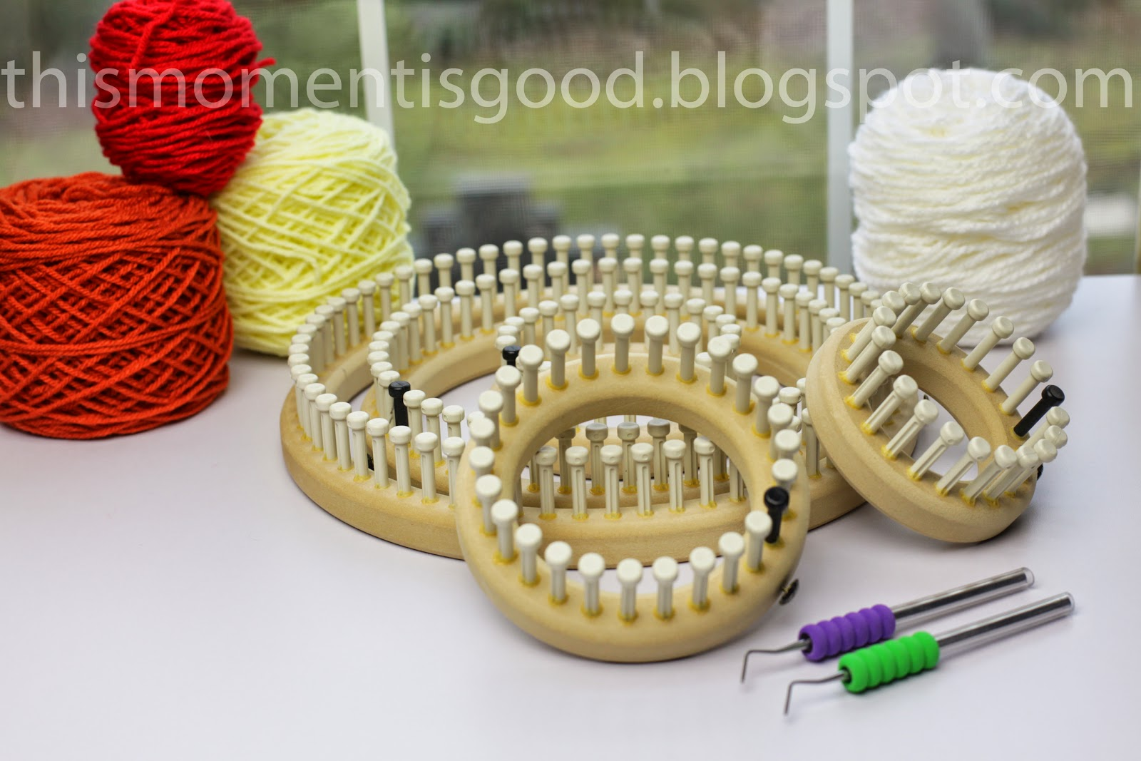 Knitting Loom 12 Pegs : A look at cindwood looms loom knitting by this moment