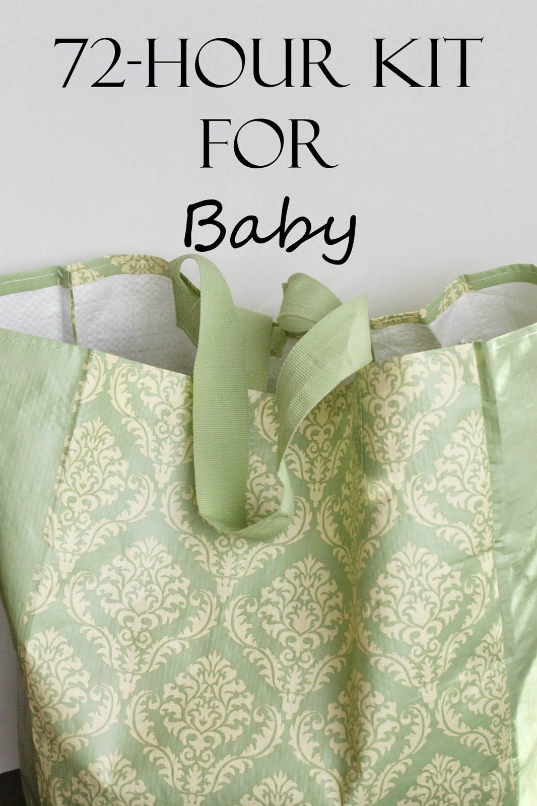 emergency kit for baby