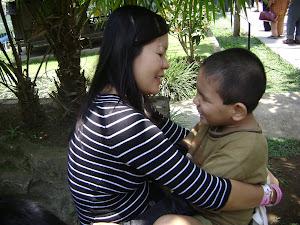 Kenangan indah bersama anakku tersayang.....