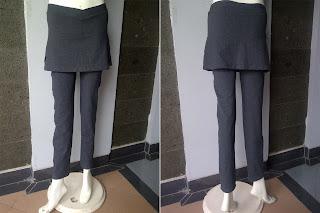 celana senam panjang rok
