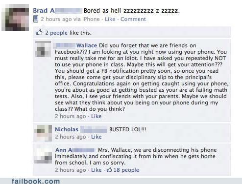 funny images for facebook posts. Funny Facebook: Brad A. Just got busted. Posted by Ethan Jarrell at Friday,