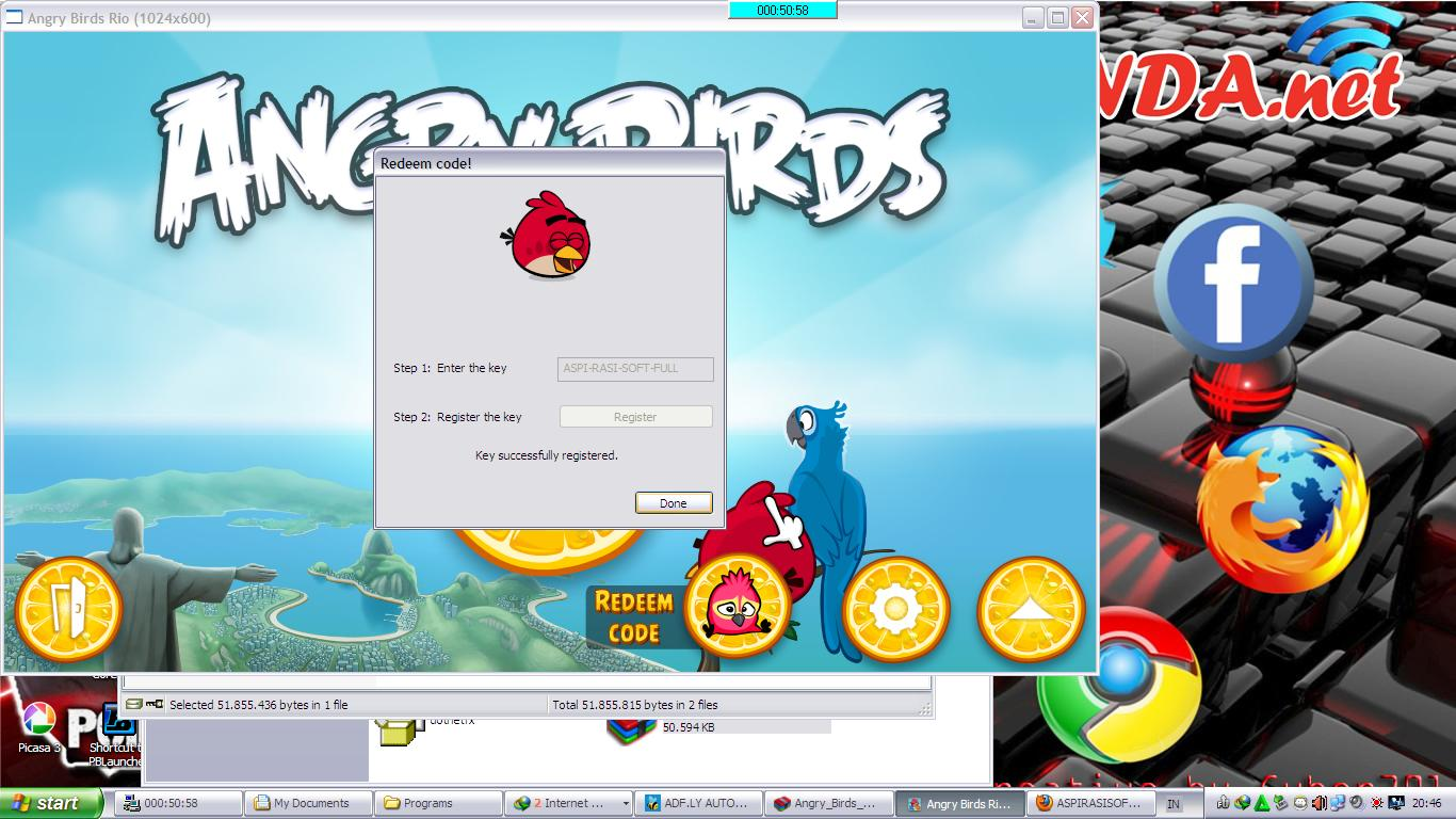 download angry birds serial key