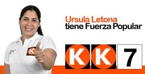 Úrsula Letona, candidata N° 7 por Lima de FUERZA POPULAR