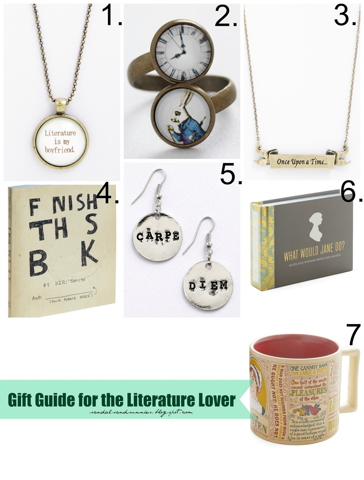 Sandals Sunnies 7 Awesome Gifts For The Literature