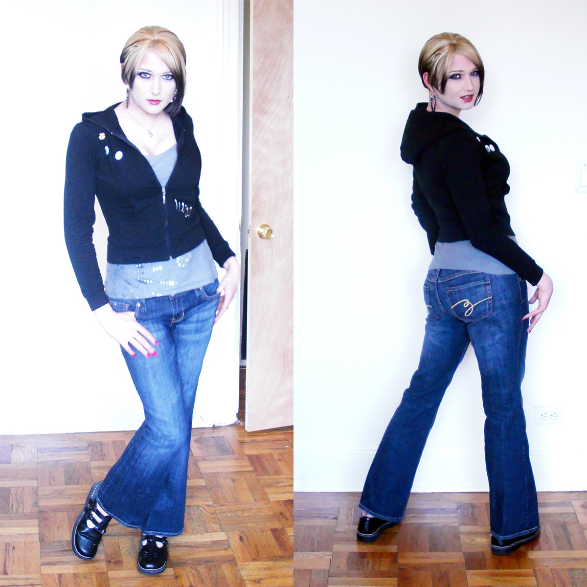 Adventures of a Gender Rebel: Showing Off My New Jeans