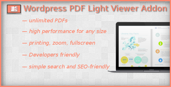 Free Download PDF Light Viewer PRO Addon Wordpress Plugin