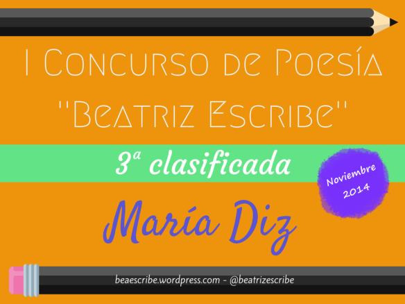 """I Concurso de Poesía """" Beatriz Escribe"""""""