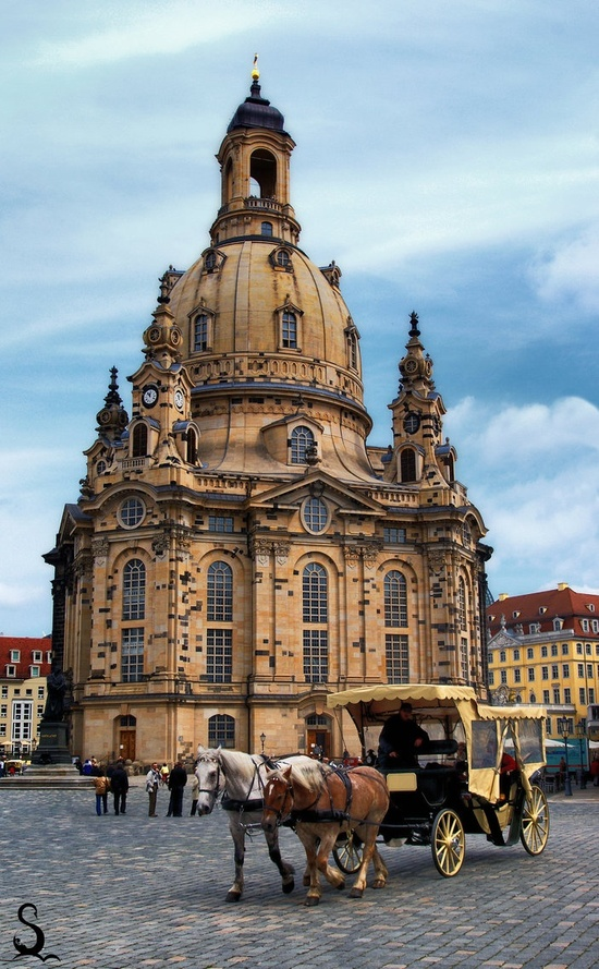 Dresden is the capital city of the Free State of Saxony in Germany.