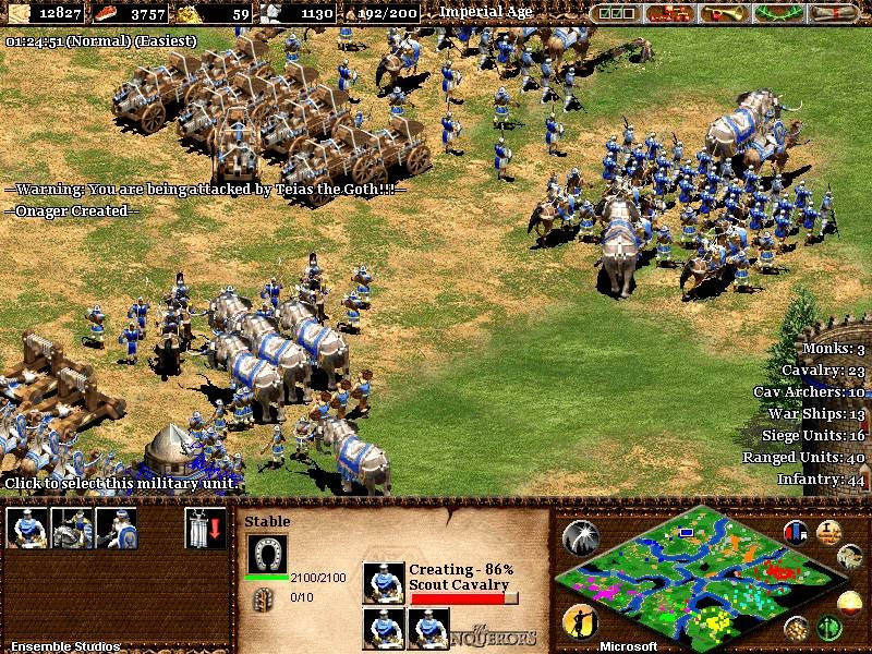 Age Of Empires 2 - The Age Of Kings Game ScreenShot