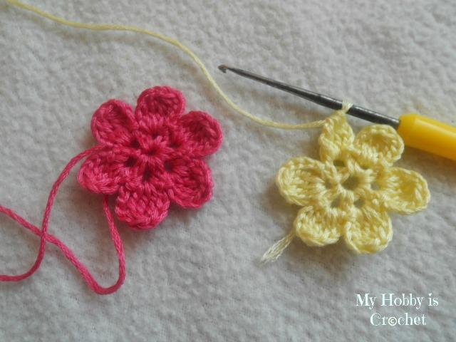 My Hobby Is Crochet: Flower Necklace Hawaiian Dream - Free pattern ...