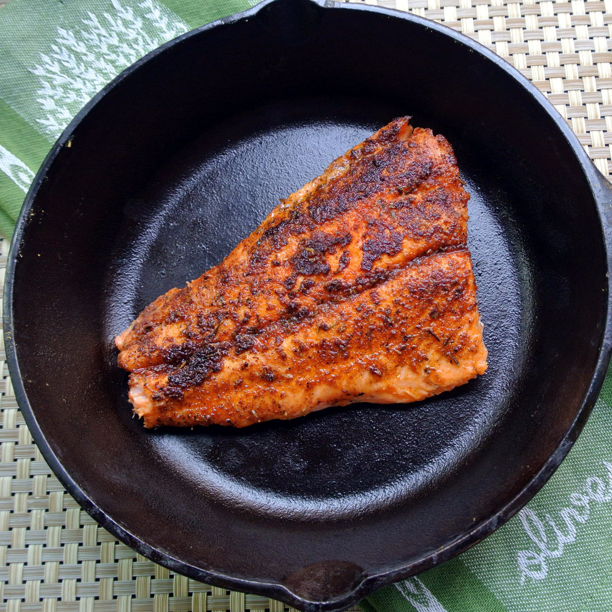 how to cook sockeye salmon in a skillet