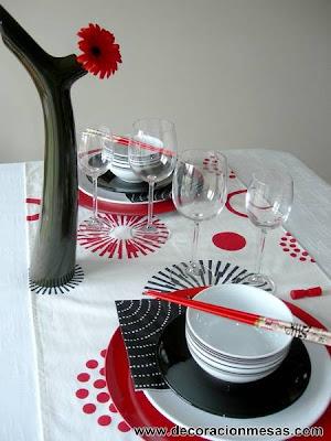 decoracion mesa estilo oriental 2