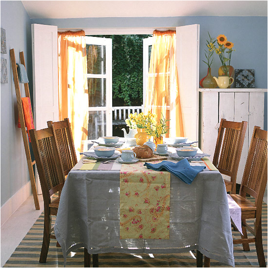 Country dining room design ideas room design inspirations for Country style dining room ideas