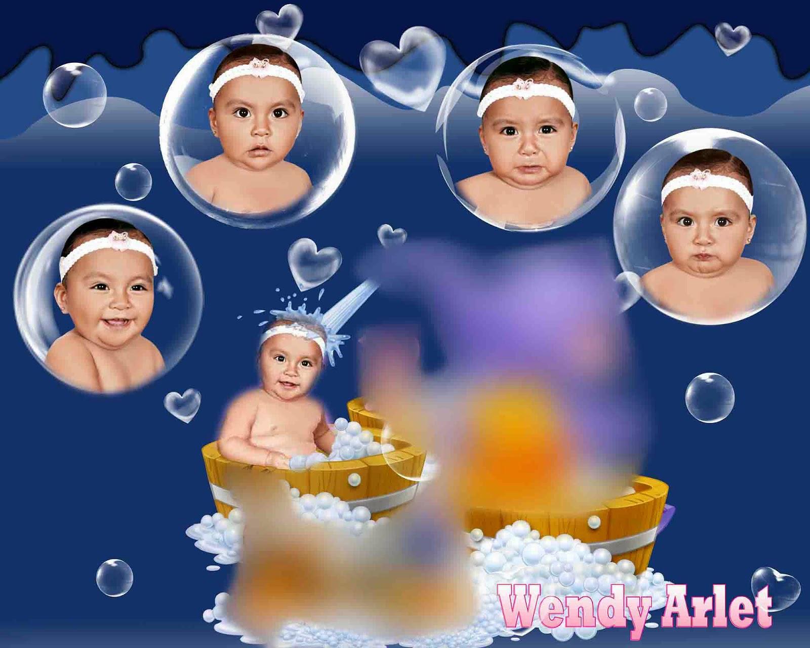 250 Plantillas De Caritas Para Bebes En .psd Photoshop Fotos ...