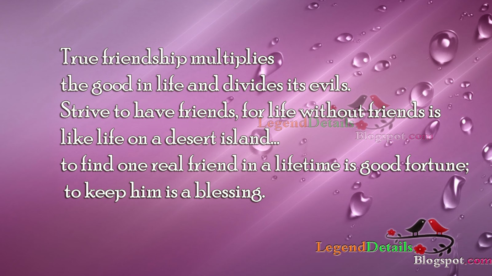 Quotes About Real Friendship Best Friendship Quotes  Legendary Quotes
