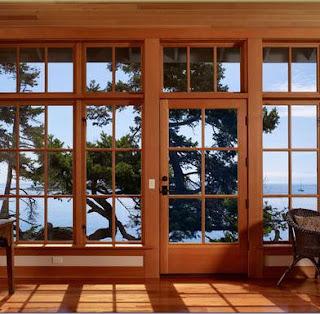 Fotos y dise os de ventanas ventanas de aluminio color madera for Colores de aluminio para ventanas en mexico