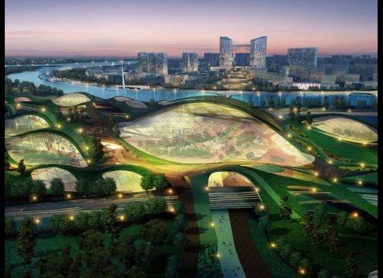 China construye una ciudad sustentable