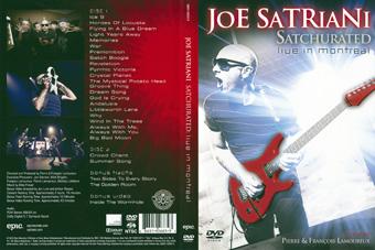 Rock Show Dvd Joe Satriani Satchurated Live In