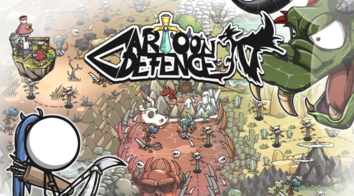 Cartoon Defense 4 Apk v1.0.0 + Data Mod [Unlimited Money]