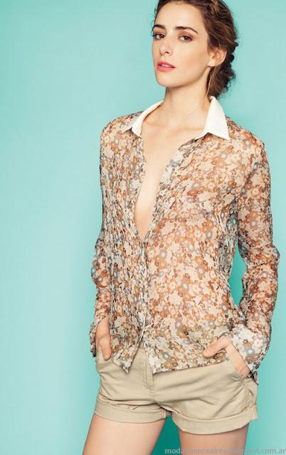 Moda 2014. Graciela Naum verano 2014, blusas, vestidos, sacos de verano.