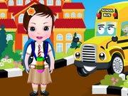Bebek Sofia Okula Dönüşü