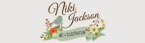 Niki Jackson Art & Illustration - Hadleigh Suffolk Artist (formerly The Vintage Artist)