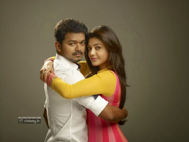 Vijay Kajal in Jilla Movie New Stills