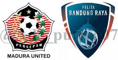 Madura United VS Pelita Bandung Raya ISL (Sabtu, 30 Maret 2013