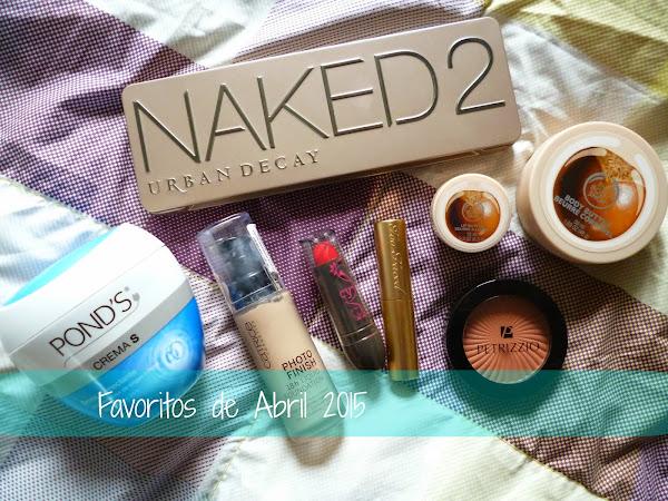 Favoritos  Abril de 2015