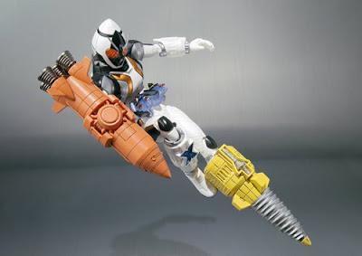 S.H.Figuarts Kamen Rider Fourze Base States