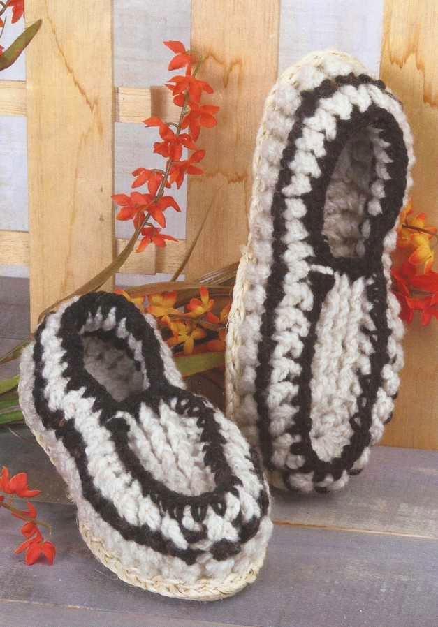 Babuchas a Crochet