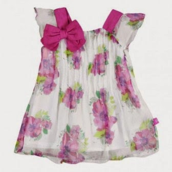 Girls Chiffon Dress - Bóboli Happy Day