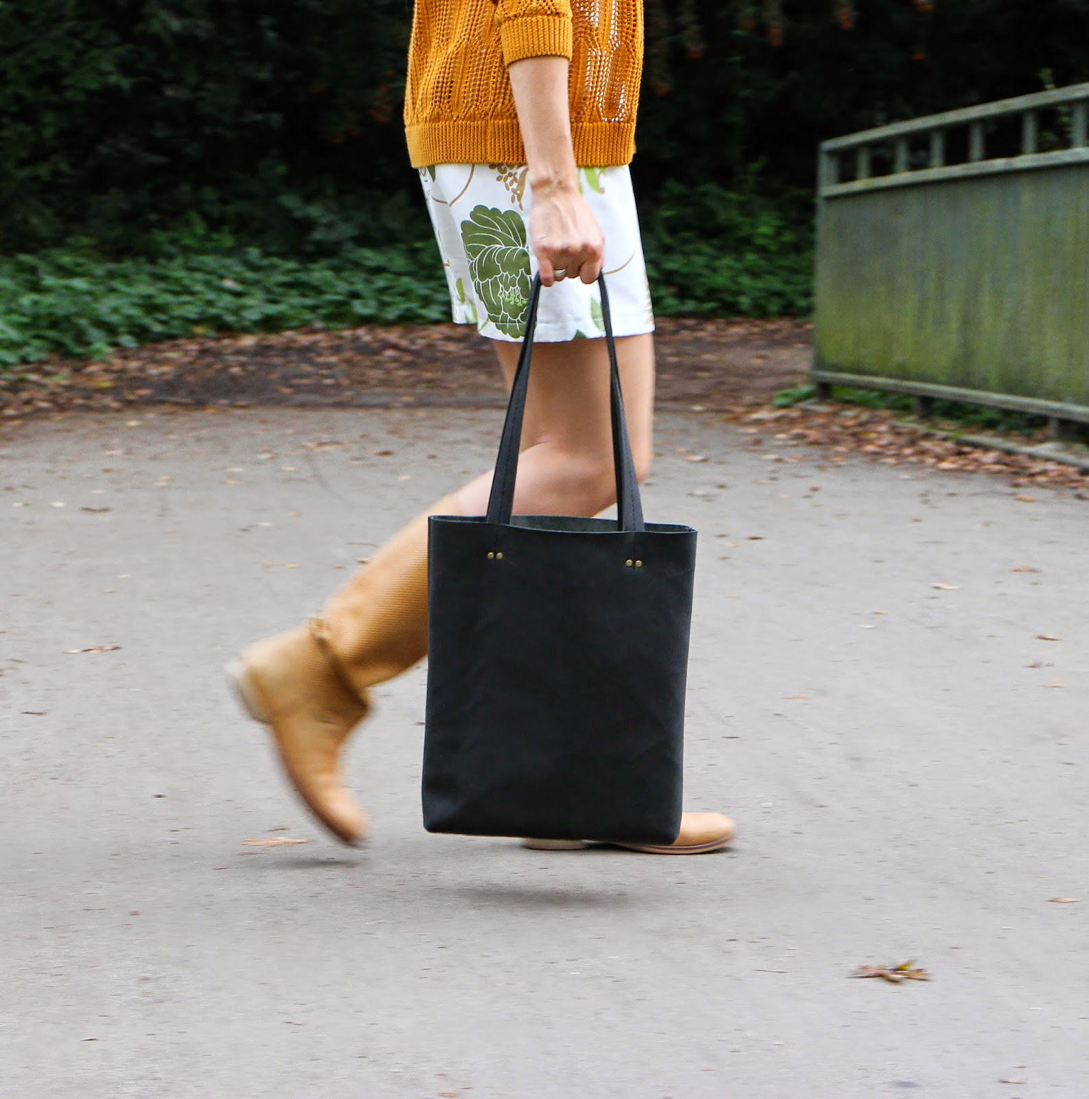 кожаная сумка для бумаг