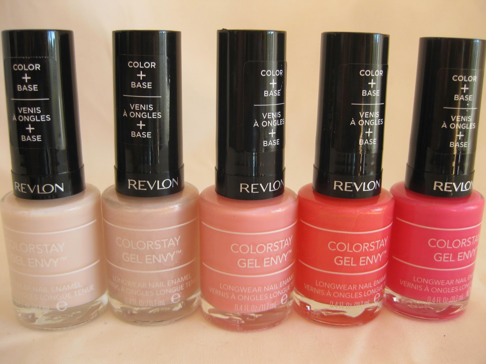 Review revlon gel envy nail polish what are their colours you ask scroll on down and feast your eyes on these little beauties nvjuhfo Image collections